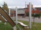 Incendio alla scuola media 'Perco' di Lucinico