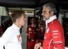 «Non licenziate Arrivabene»: lo difende pure Vettel