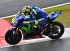 Pazza Yamaha: stavolta Valentino Rossi va meglio con l'acqua
