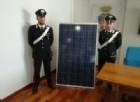 Rubavano pannelli solari, manette per 4 marocchini