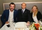 Berlusconi, Salvini e Meloni siglano «il patto dell'arancino» per guidare il Paese (Sicilia permettendo)