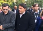 Matteo Renzi nell'ex caserma Osoppo di