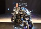 Yamaha Niken: la prima moto a tre ruote, garantita da Valentino Rossi