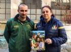 Fabio Pirola e Maria Cristina Tonna con la rivista Drop