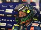Valentino Rossi è già nel 2018: inizia i test con un nuovo casco