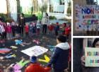 Tagli alle scuole paritarie convenzionate: la protesta dei bimbi torinesi