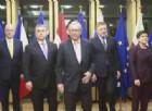 Vertice Gentiloni-Juncker con Visegrad sui migranti: ecco cosa hanno deciso i paesi dell'Est