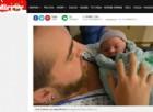 Kaci Sullivan, il primo transgender che ha partorito una neonata. Le foto e i video