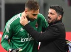 Tegola Milan, Donnarumma inguaia Gattuso