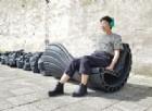 La panchina fatta con la plastica riciclata (e stampata in 3D)