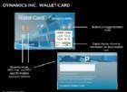 C'è una carta di credito con display (dove puoi vedere i dati del tuo conto)