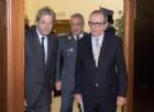 Il Premier Paolo Gentiloni con il Ministro Padoan