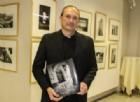 Roberto Ramella nello Spazio Cultura della Fondazione Crb (foto Valeria Cavallo)