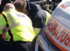 Ceolini, giovane militare sbanda con l'auto e si schianta su un palo