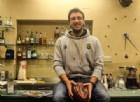 Jacopo Bertone al bar Magnino