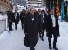 Gentiloni a Davos: «Mai con Berlusconi. Il mio impegno finisce con le elezioni»