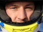 Il giovane pilota chiede 200 mila euro ai suoi tifosi
