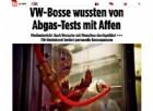 Torture a scimmie per testare i gas di scarico: Volkswagen, Bmw e Daimler nella bufera. Ma Bmw nega