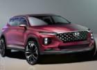 Svelati i primi disegni della nuova Hyundai Santa Fe