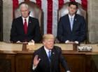 Usa, il primo discorso di Donald Trump sullo stato dell'Unione