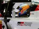 Alonso già in pista con il suo nuovo prototipo Toyota