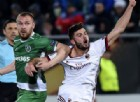 Primo tempo di Ludogorets-Milan: ci pensa sempre lui