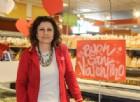 Nadia Galvan del supermercato Conad di Candelo (foto di Valeria Cavallo)