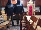 Un momento dell'operazione contro il clan Spada ad Ostia, 25 gennaio 2018. Tra i destinatari dei provvedimenti c'erano anche Carmine Spada, considerato il capo del clan, e il e il fratello Roberto, già arrestato per l'aggressione ad una troupe della