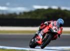 Inizia l'ultimo test, e spunta la Ducati con Melandri
