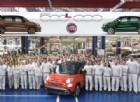 Fiat 500L da record: prodotto l'esemplare numero 500 mila