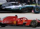 Ferrari contro Mercedes: confronto diretto tra le due monoposto