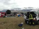 Incidente sulla SP7 ad Aviano: furgone si ribalta, un ferito