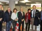 La senatrice Favero insieme a sindaci e amministratori biellesi del Partito Democratico (foto Valeria Cavallo)
