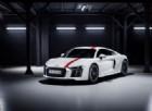 Audi lancia la R8 V10 Rws in serie limitata: solo per puristi