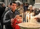 Una candela per i clochard morti in strada