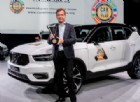 La Volvo Xc40 è auto dell'anno 2018