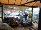 Coppia di Cuneo sfonda il dehor di un bar a Ventimiglia