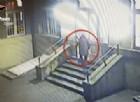 Il ladro immortalato dalle telecamere