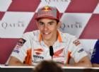 La battuta di Marquez sul rinnovo di Valentino Rossi: «Felice anche io»