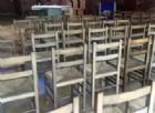Gattinara, in vendita le sedie della parrocchia