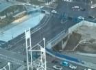 Il ponte a raso ripreso dall'alto