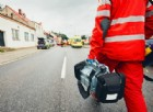 Cuneo, operaio cade dalla tromba delle scale: è grave