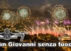 San Giovanni, a Torino i fuochi d'artificio sostituiti dai droni luminosi