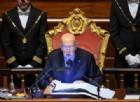 Al Senato inizia la prima seduta: e il primo intervento è di Napolitano