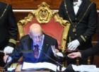 18esima legislatura, inizio in bianco (con stoccate di Napolitano a Salvini e Renzi)