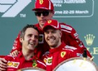 Vettel gode, ma con giudizio: «Su cosa deve ancora lavorare la Ferrari»