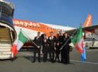EasyJet: atterrato il primo volo per Londra, in arrivo anche Manchester, Bristol e Berlino
