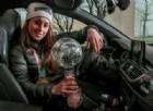Una Audi Rs 6 sportiva per la campionessa olimpica Sofia Goggia