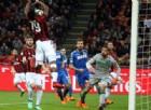 Il Milan inciampa contro il Sassuolo e frena nella corsa Champions