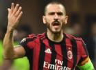 Milan, Bonucci bocciato all'esame decisivo